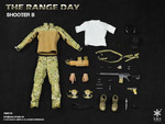 "Easy & Simple 1/6 Scale 12"" The Range Day Shooter Accessories Gear Set B 16001B 16001B"