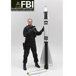 """Art Figures 1/6 Scale 12"""" FBI Biochemical Weapons Expert Action Figure AF-014 AF-014"""