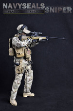 "Flagset 1/6 Scale 12"" US Navy Seals Sniper Action Figure FS073004 FS-73004"