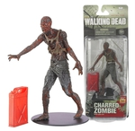 "McFarlane Toys Walking Dead Series 5 Charred Zombie 5"" Action Figure 14535 WD-017"