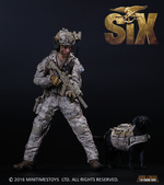 """Mini Times 1/6 Scale 12"""" US Navy Seal Team 6 Devgru Action Figure with Dog M006 M006"""