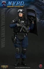"Soldier Story 1/6 Scale 12"" NYPD ESU Tactical Entry Team Action Figure SS100 SS-100"
