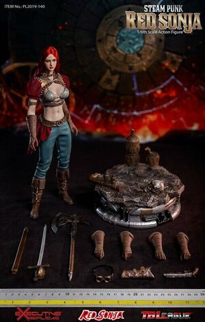 "Phicen Executive Replicas TBLeague 1/6 12"" Steam Punk Red Sonja Deluxe Version 2019-1040B"
