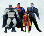 DC Comics Collectibles Batman The Dark Knight Returns Action Figure 4 Pack OCT120313