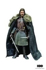 "ThreeZero 1/6 Scale 12"" Game of Thrones Eddard Stark Sean Bean Action Figure 4897056200104"