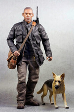 "Subway 1/6 Scale 12"" Survivor Action Figure with Dog 93001 93001"
