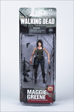 "McFarlane Toys Walking Dead Series 5 Maggie 5"" Action Figure 14533 WD-019"