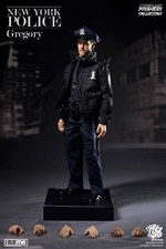 "ZC World 1/6 Scale 12"" NY New York Police Dept. NYPD Officer Gregory ZC-096 ZC-096"