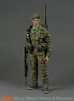 "ACE 1/6 Scale 12"" Vietnam US Navy Seals Team 2 Kimber Action Figure 13012 130102"