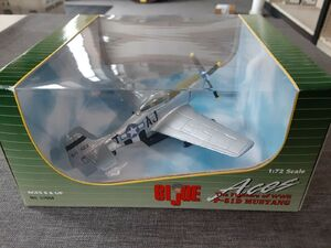 Hasbro GI Joe Aces 1/72 scale Fighters of WWII P-51D Mustang Diecast Airplane gija5421a