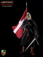 "ACI 1/6 Scale 12"" Warriors Series Knight Hospitaller Crusader Figure ACI23 ACI23"