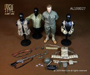 """Alert Line 1/6 Scale 12"""" WWII US Army Uniform Suit Set Set AL-100027 New AL-100027"""