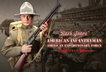 "DID WWI American Infantry of Expeditionary Force 1/6 Scale 12"" Buck Jones 11009 11009"