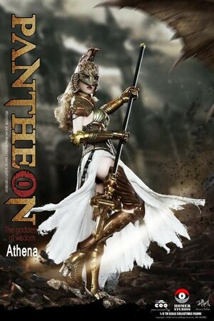 "CooModel 1/6 Scale 12"" Pantheon Goddess of Wisdom Athena Action Figure HS001 HS001"