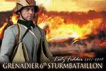"DID 1/6 Scale 12"" WWI German Grenadier Lutz Fedder Action Figure D11004 D11004"