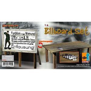 "WWII German 1/6 Scale Billboard/Table for 12"" Figure 71290 71290"