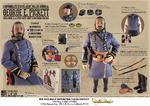 "Mohr Toys 1/6 Scale 12"" American Civil War Confederate Major George Pickett DM01 DM-01"