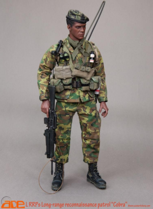 """ACE Toys 1/6 Scale 12"""" LRRPS Long Range Reconnaissance  Patrol COBRA ACE-13031 ACE-13031"""