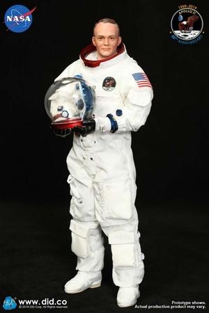 """1/6 Scale 12"""" Apollo Astronaut Commander Michael Collins Figure NA003 New NA003"""