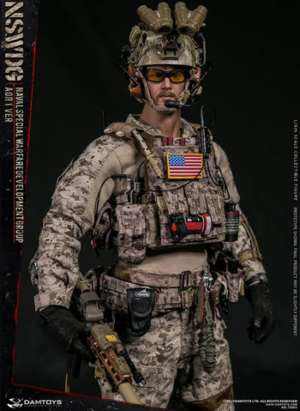 "1/6 Scale 12"" US Naval Special Warfare Development Group AOR1 Version DAM-78065"