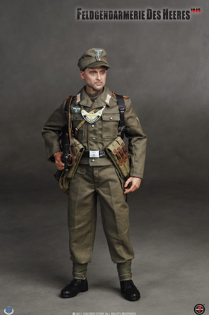 "Soldier Story 1/6 Scale 12"" WWII Feldgendarmerie Des Heeres 1945 Action Figure SS-054 SS054"