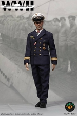 "Kings Toys 1/6 Scale 12"" WWII German U-Boat Captain Action Figure KT-8003 KT-8003"