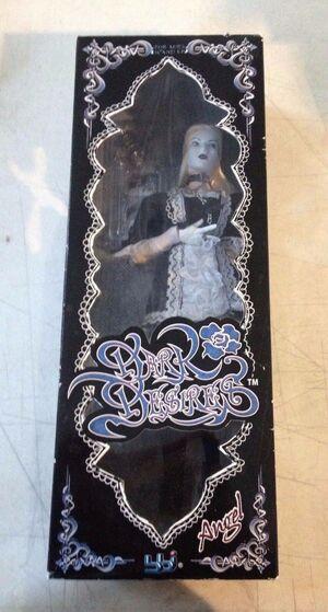 "2005 BBI 1/6 Scale 12"" Dark Desires Gothic Female Angel Action Figure 21506"