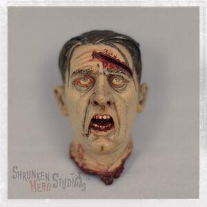 "Shrunken Head Studios Bits & Pieces 1/6 Scale Severed Head for 12"" Action Figure BAP-001"