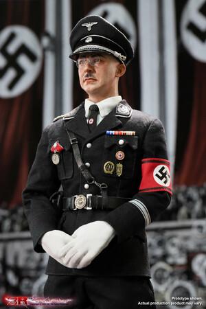 "3R 1/6 Scale 12"" Heinrich Himmler WWII German Commander of the Schutzstaffel GM645 GM645"
