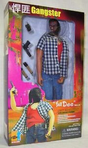 "Dragon Models 1/6 scale 12"" Action Figure HK Hong Kong Gangster Dee Junior 72024 72024"