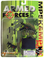 "InToyz Armed Forces 1/6 Scale H.K. PDW, MP5K W/CARRYING CASE for 12"" Figure IT-1989"