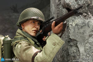 """1/6 Scale 12"""" WWII US 2nd Ranger Battalion Series 4 Private Jackson A80144 A80144"""