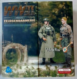 """1/6 Scale 12"""" WWII  Military Police Jakob Blau Action Figure D80055 D80055"""