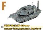 Dragon Can.Do 1/144 Scale USMC 2nd Marine Desert M1A1HA Abrams Tank 20041 20041