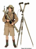 "Dragon 1/6 Scale 12"" WWII German Telescope & Rangefinder Model Kit 75022 75022"