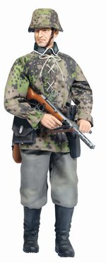 "Dragon Models 1/6 Scale 12"" Figure WWII German Soldier Hubert Metzger Action Figure 70799 70799"