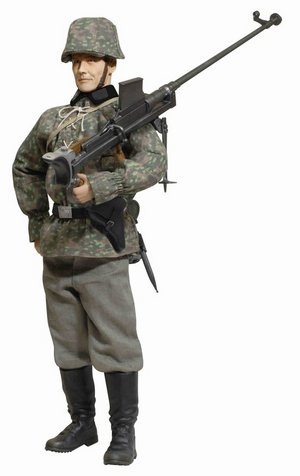 "Dragon 1/6 Scale 12"" WWII German Soldier Gunner Viktor Schmidt Action Figure 70803 70803"