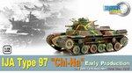 Dragon Armor WWII Japan 1/72 Scale IJA Type 97 Chi-Ha 34th Tank Regiment 60432 60432