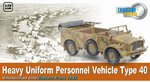 Dragon Armor 1/72 Scale WWII German Heavy Uniform Personnel Vehicle 40 60502 60502