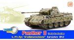 Dragon 1/72 Scale WWII German Panther D Early Production 4./Pz.Rgt. Tank 60596 60596