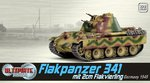 Dragon Armor 1/72 Scale WWII German 1945 Flakpanzer Tank Ultimate Armor 60644 60644