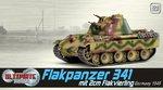 Dragon Armor 1/72 Scale WWII German 1945 Flakpanzer Tank Ultimate Armor 60644 60644