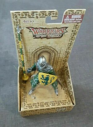 BBI 90mm 1/18 Scale Warriors of the World Knights Knight with Lance Action Figure 21442