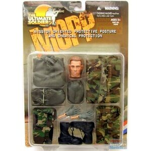 """1/6 Scale MOPP and Chemical Protection 12"""" Accessory Set 21st813"""