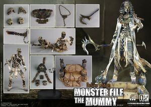 "COOMODEL X OUZHIXIANG 1/6 Scale 12"" Monster File Series � Mummy (Deluxe Edition) MF009"