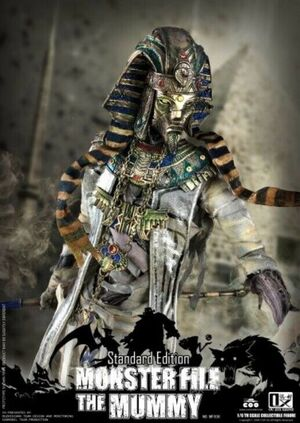 "COOMODEL X OUZHIXIANG 1/6 Scale 12"" Monster File Series � Mummy Standard Edition MF008"