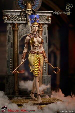"TBLeague Phicen 1/6 Scale 12"" Female Phicen Queen of Egypt Nefertiti PL2020-164 PL2020-164"