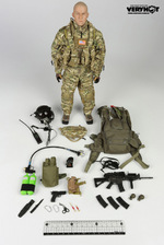 """Very Hot Toys 1/6 Scale 12"""" US Army Special Forces HALO Action Figure VH-1039F VH-1039F"""