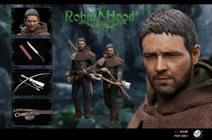 "PopToys 1/6 Scale 12"" Chivalrous Robin Hood Full Figure New EX21-A EX21-A"