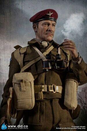 "1/6 Scale 12"" WWII British 1st Airborne Div Commander Roy Red Devils K80135  K80135"